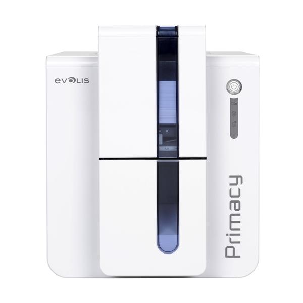 Evolis Primacy Blå Plastkortprinter + fargebånd + duplex