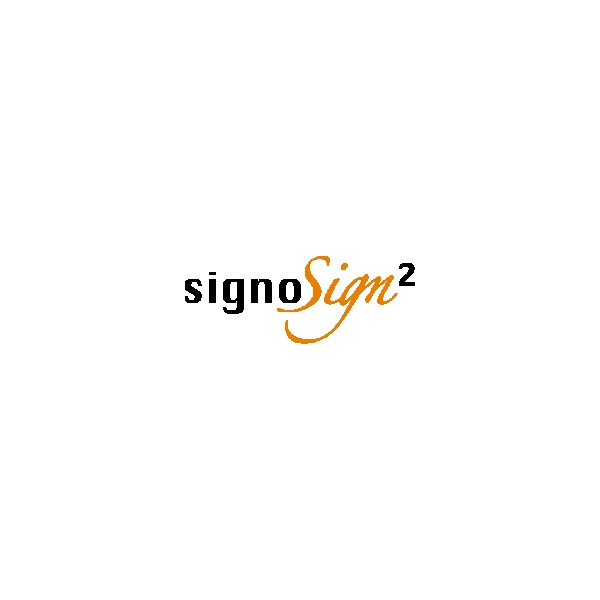 Sikkersignering signoSign/2 - 1 license 1 workstation