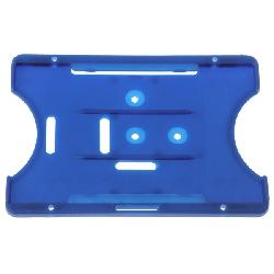 Kortholder Safebadge blå, kun holder