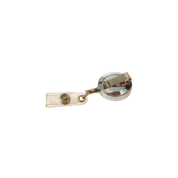 Jojo liten metall med metall hempe og plast rem