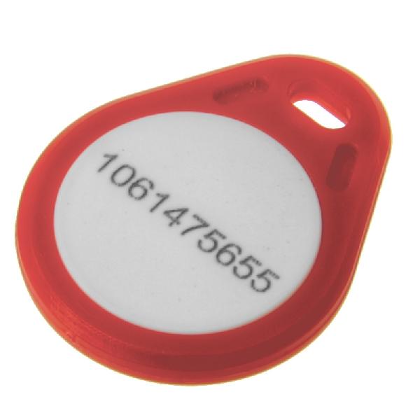 Key Fob Mifare1k Rød
