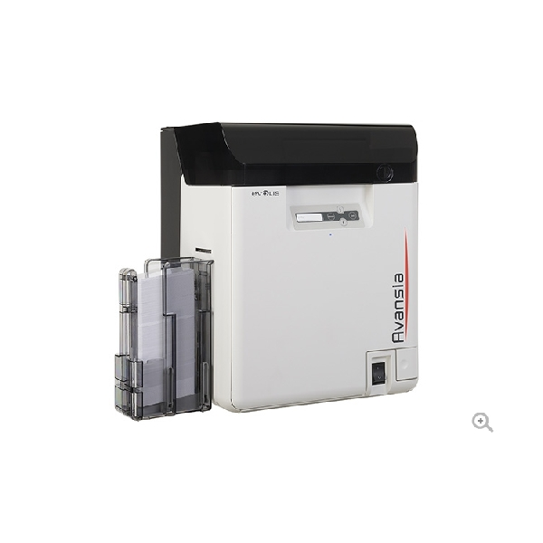Evolis Avansia Retransfer printer DUPLEX m/magetstripe koder