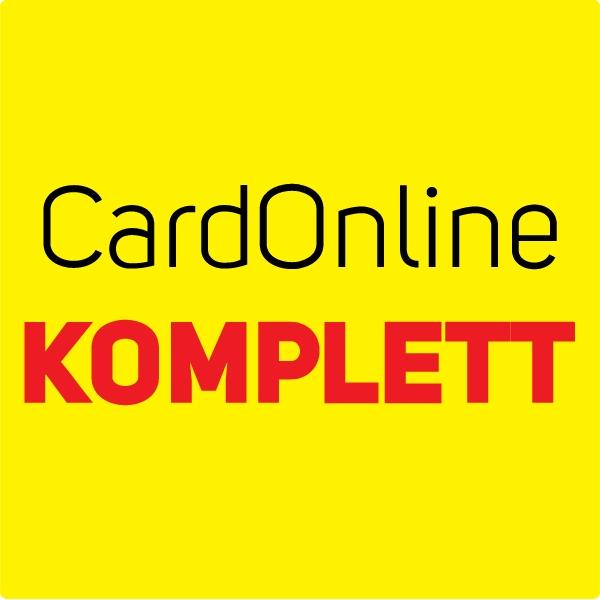 CardOnline KOMPLETT