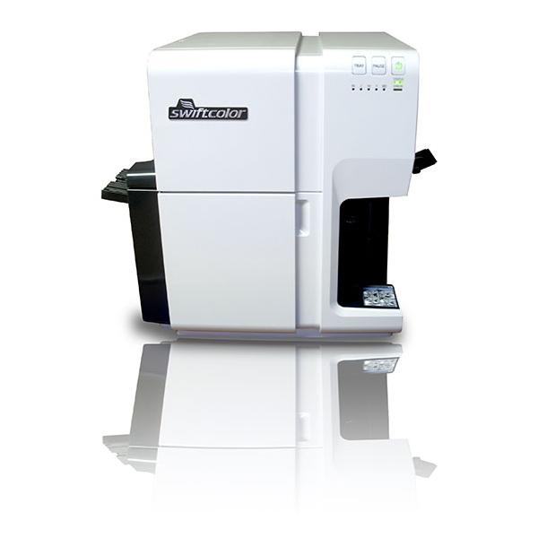 """Swiftcolor SCC-4000D 4""""Desktop Color Inkjet Card Printer"""
