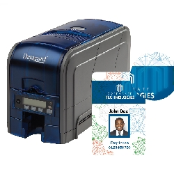 DataCard SD160 Printer, Simplex, 100-Card Input (ISO Mag)