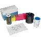 Fargebånd Datacard SD 460 Overlay, Clear(1000kort)