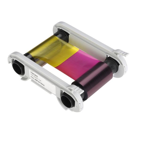 Fargebånd EVOLIS Primacy YMCKO-K 200 kort