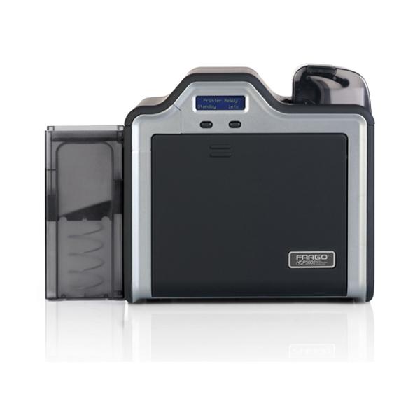 Fargo HDP5000 plastkortprinter duplex med mag og rfid koder