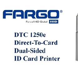 Fargo DTC1250e plastkortprinter tosidig med magkoder