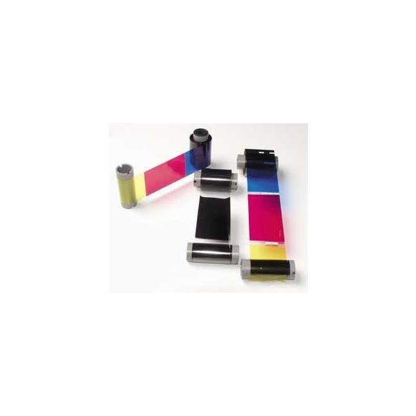 Fargebånd Fargo YMCKOK - 400 kort - DTC 550
