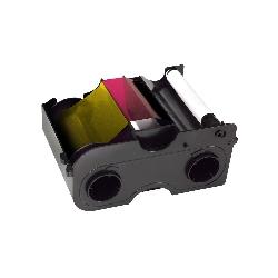 Fargebånd DTC4000 YMCKO 250 kort