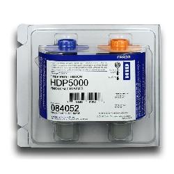 Fargebånd Fargo YMCKK 500 kort (HDP5000)