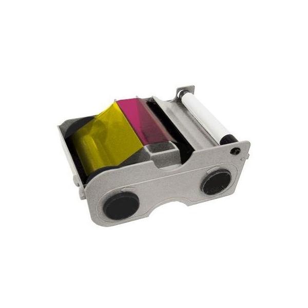 Fargebånd DTC4000 YMCFKO med fluoriserende overlay 200 kort