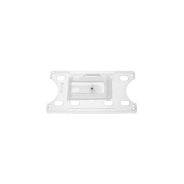 Kortholder Cardkeep2 transp, vendbar plastklips