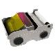 Fargebånd DTC4500 YMCFKO med fluoriserende overlay 500 kort