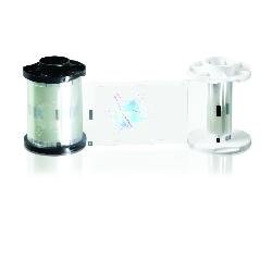 Fargebånd Fargo PolyG 0,6 mil Orbit Design 250 kort HDP5000