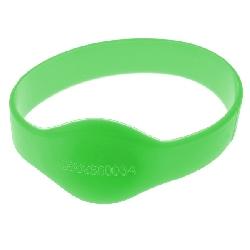 Armbånd Mifare 1k Grønn 74mm m/UID