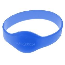 Armbånd Mifare 1k Blå 50mm m/UID