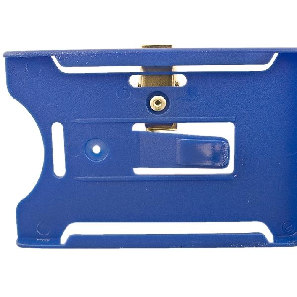 Kortholder Cardkeep5 blå, horisontal