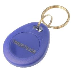 Key Fob EM Blå