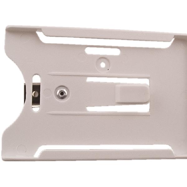 Kortholder Cardkeep5 hvit, vertikal