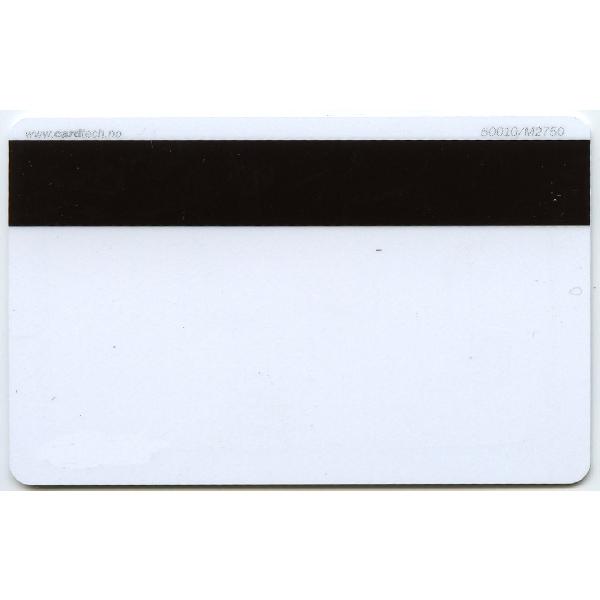 Plastkort hvite Hico 2750 + Mifare 1k kompositt