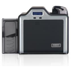 Fargo HDP5000 enkeltsidig med Omnikey Cardman 5121