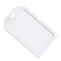 Bagasje Kortholder med transparent gummi stropp