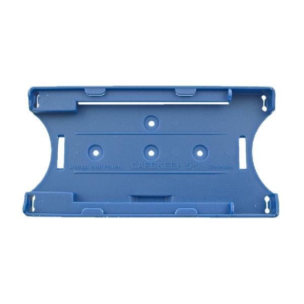Kortholder Cardkeep5+1 blå, kun holder