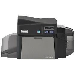 Fargo DTC4250e plastkortprinter ensidig Omnikey 5121 med mag