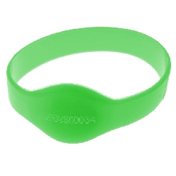 Armbånd Rund Mifare 1k Grønn 50mm