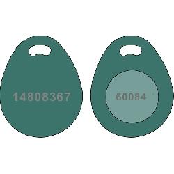 Key Fob EM Grønn
