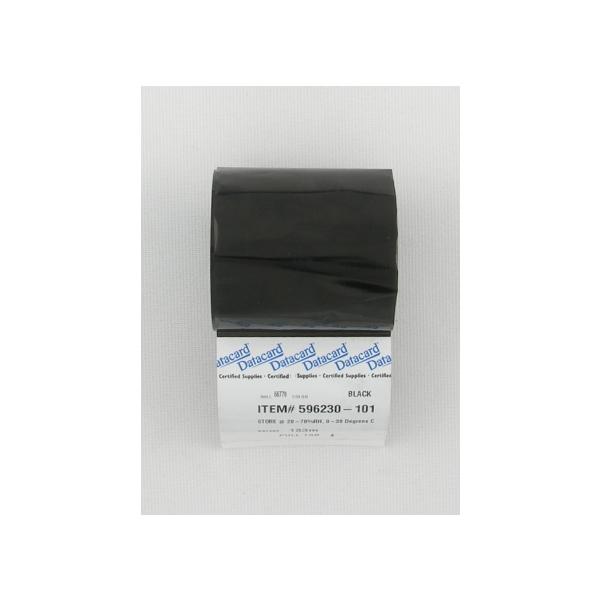 Fargebånd Datacard Sort IC4,285 (1800 kort)