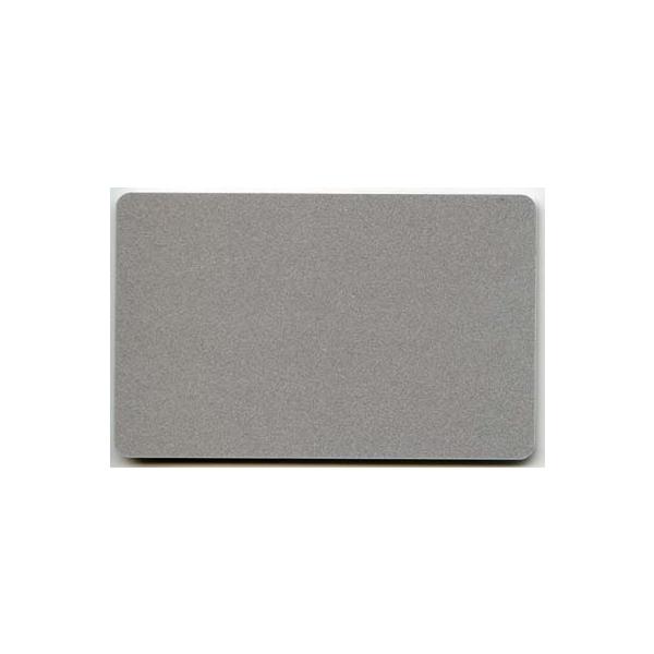 Plastkort Sølv
