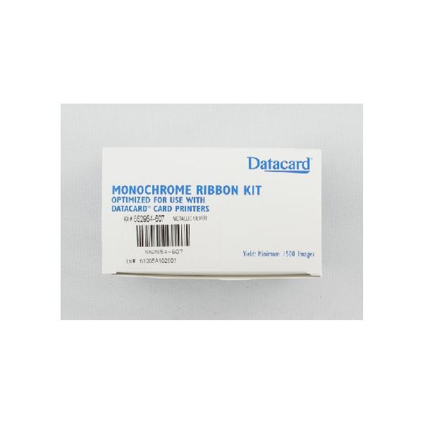 Fargebånd Datacard SP55 Sølv Metallic kit 1500 kort)