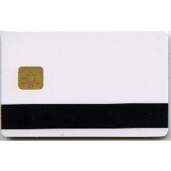 Plastkort hvite Hico 2750 + Chip + EM (CBV MNB)