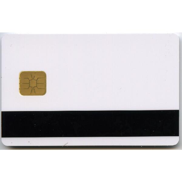 Plastkort hvite Hico 2750 + Chip + MIFARE 1k (CBV MNB)