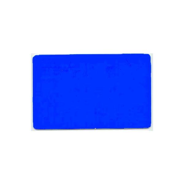 Plastkort Blått