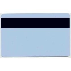 Plastkort Lys Blå med HiCo magnetstripe (2750 oersted