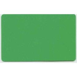 Plastkort Grønn
