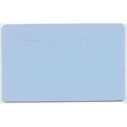 Plastkort Lys Blå