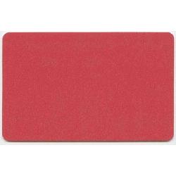 Plastkort Lys Rødt