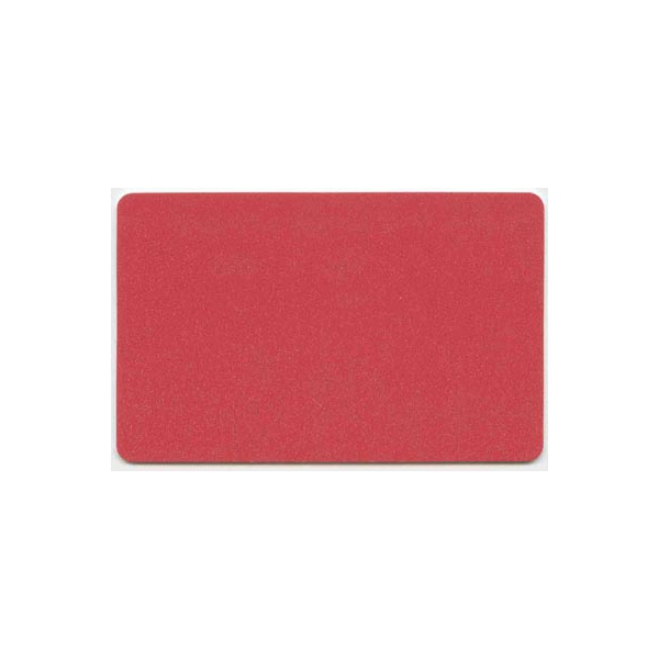 Plastkort Rødt