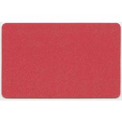 Plastkort Rødt med HiCo magnetstripe (2750 oersted