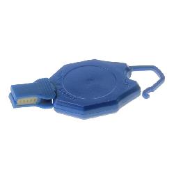 Jojo med bøyle og friksj. feste blå