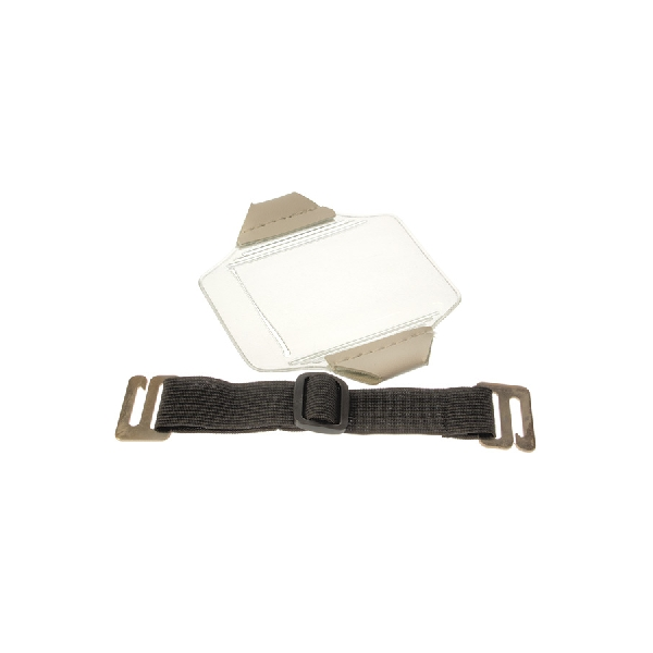 Kortholder Arm Horisontal sort bånd
