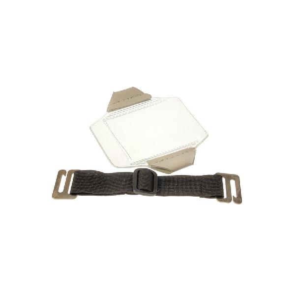 Kortholder Arm Vertikal sort bånd