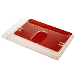 Kortholder Pocket Transparent (C) Vertikal
