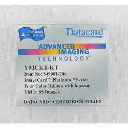 Fargebånd Datacard Platinum YMCKT-KT
