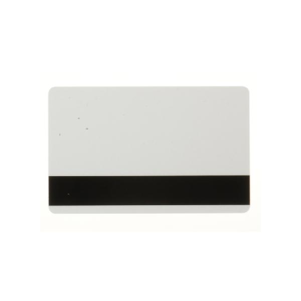 Plastkort Perlemor med HiCo magnetstripe (2750 oersted)